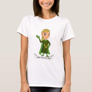 Camiseta Dibujo animado de encargo del chica del super