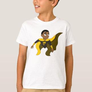 Camiseta Dibujo animado del muchacho del super héroe del