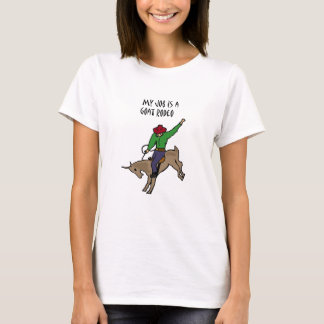 Camiseta Dibujo animado divertido del humor del trabajo del