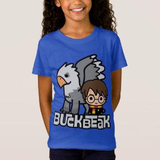 Camiseta Dibujo animado Harry Potter y Buckbeak