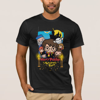 Camiseta Dibujo animado Harry Potter y la piedra del