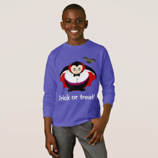 Camiseta Dibujo animado lindo de la diversión de una cuenta