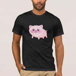 637c2fa65a77 Camisetas de American Apparel™ Dibujo Animado Del Cerdo