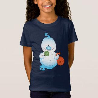Camiseta Dibujo animado lindo del fantasma de Halloween