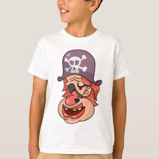 Camiseta Dibujo animado principal del pirata