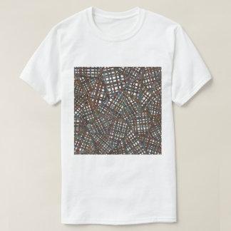 Camiseta Dibujo de la armadura de cesta