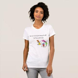 Camiseta Dibujo de los niños