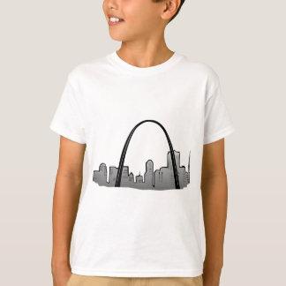 Camiseta Dibujo del horizonte de St. Louis