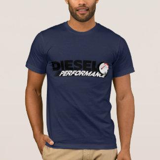 Camiseta diesel del funcionamiento