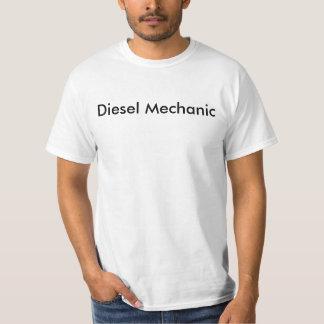 Camiseta diesel del mecánico