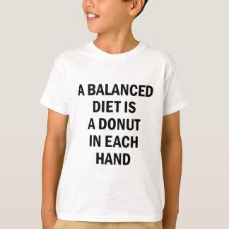 Camiseta Dieta equilibrada