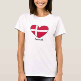 Camiseta Dinamarca en mi corazón