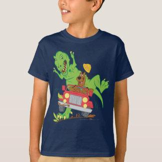 Camiseta Dinosaurio Attack1 de Scooby Doo