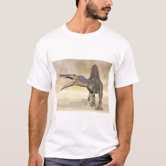Camiseta Dinosaurio de Spinosaurus en el desierto - 3D