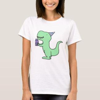 Camiseta Dinosaurio del cumpleaños