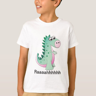 Camiseta Dinosaurio lindo del dibujo animado