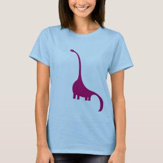 Camiseta Dinosaurio púrpura
