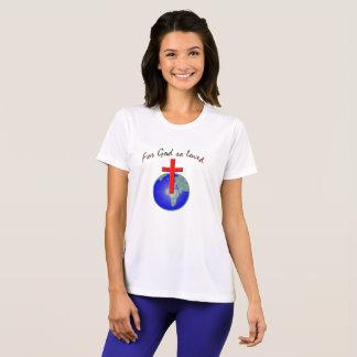 Camiseta Dios amado tan