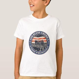 Camiseta Dios bendice América