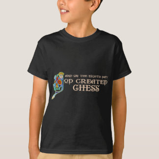Camiseta Dios creó ajedrez