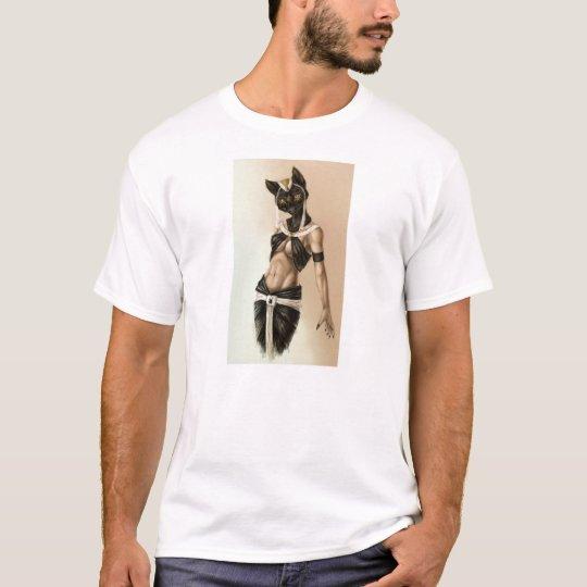 Camiseta Diosa egipcia Bastet
