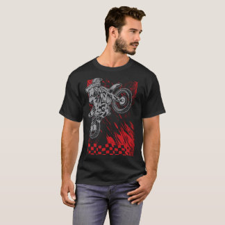 Camiseta Dirtbike Mudding