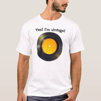 Camiseta Disco de vinilo