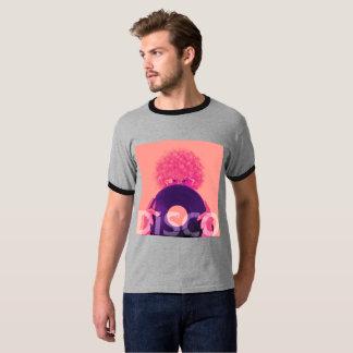 Camiseta Disco labrador retro