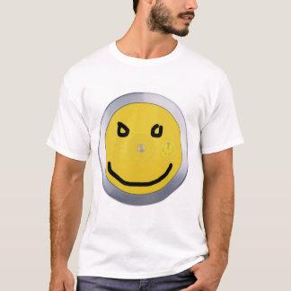 Camiseta disco, smiley del marcador
