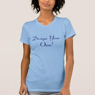 Camiseta Diseñe su propio azul de océano y medianoche