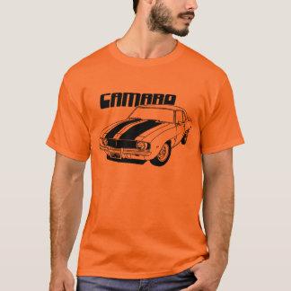 Camiseta Diseño 1969 del coche del músculo de Camaro