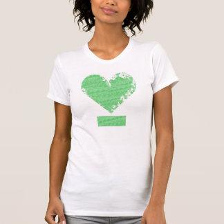 Camiseta Diseño apenado del corazón