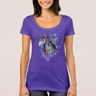 Camiseta Diseño colorido único del arte gráfico del