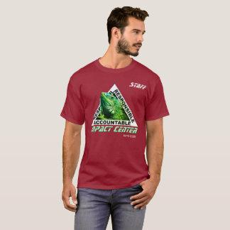 Camiseta diseño DE CENTRO de la iguana del impacto