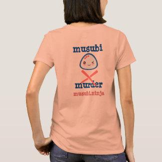 Camiseta Diseño de Kawaii del asesinato de Musubi