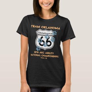 Camiseta Diseño de la agilidad de Oklahoma del equipo para