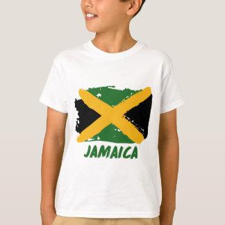Camiseta Diseño de la bandera de Jamaica