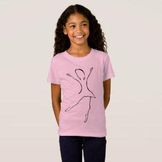 Camiseta Diseño de la danza del ballet
