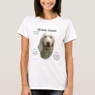 Camiseta Diseño de la historia de Spinone Italiano