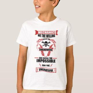 Camiseta diseño de los mecánicos