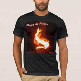 Camiseta Diseño de Magick Fireplay del dragón del ~ de