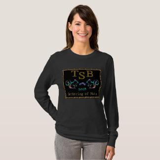 Camiseta Diseño de neón de TSB Gathering2018 del oro
