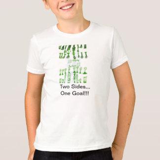 Camiseta Diseño del ajedrez por máximo
