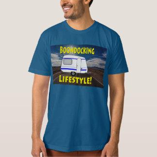 Camiseta Diseño del campista de la forma de vida de