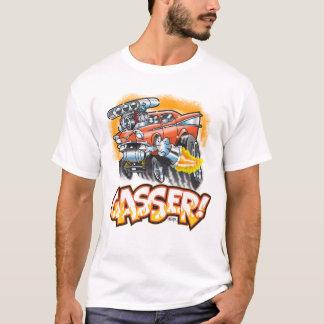 Camiseta Diseño del coche de carreras de Gasser
