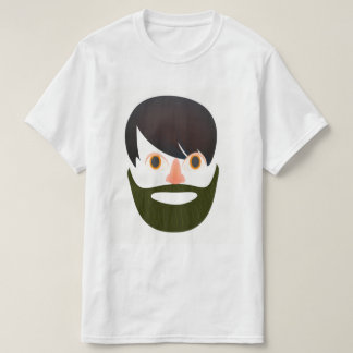 Camiseta Diseño del hombre del dibujo animado