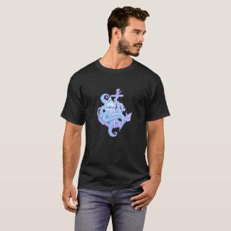 Camiseta Diseño del ilustracion del cráneo del calamar