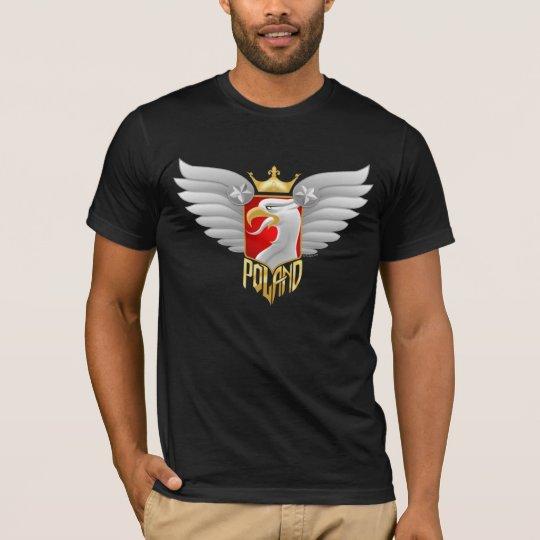 Camiseta Diseño del motorista de Polonia