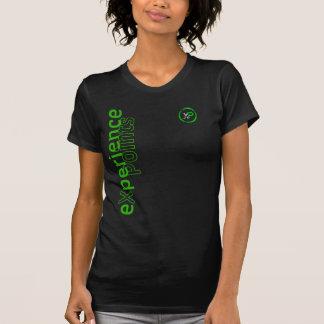 Camiseta diseño echado a un lado de la moneda de los
