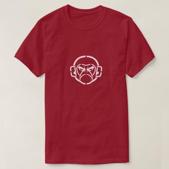 Camiseta Diseño enojado del mono